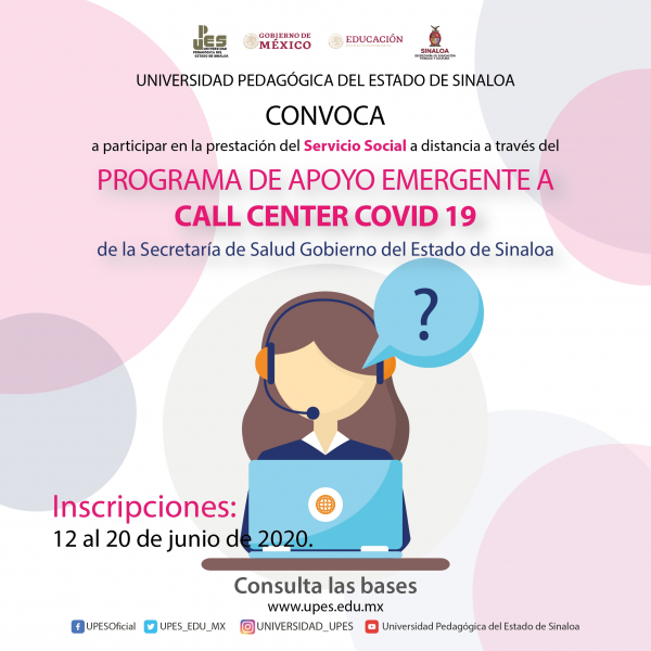 PROGRAMA DE APOYO EMERGENTE A CALL CENTER COVID 19