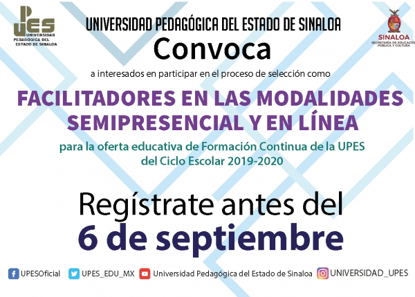 CONVOCATORIAS FACILITADORES